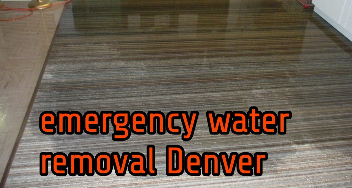 Emergency Water Removal Denver