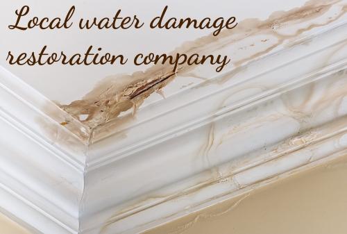Local water damage restoration company