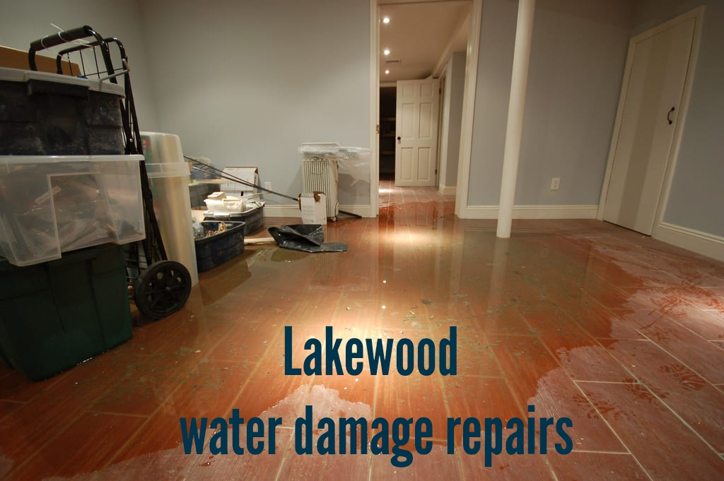 Lakewood water damage repairs