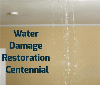 Water damage restoration Centennial