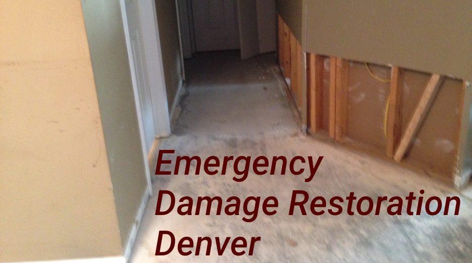 Emergency damage restoration Denver