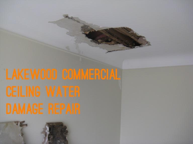 Lakewood Commercial Ceiling Water Damage Repair