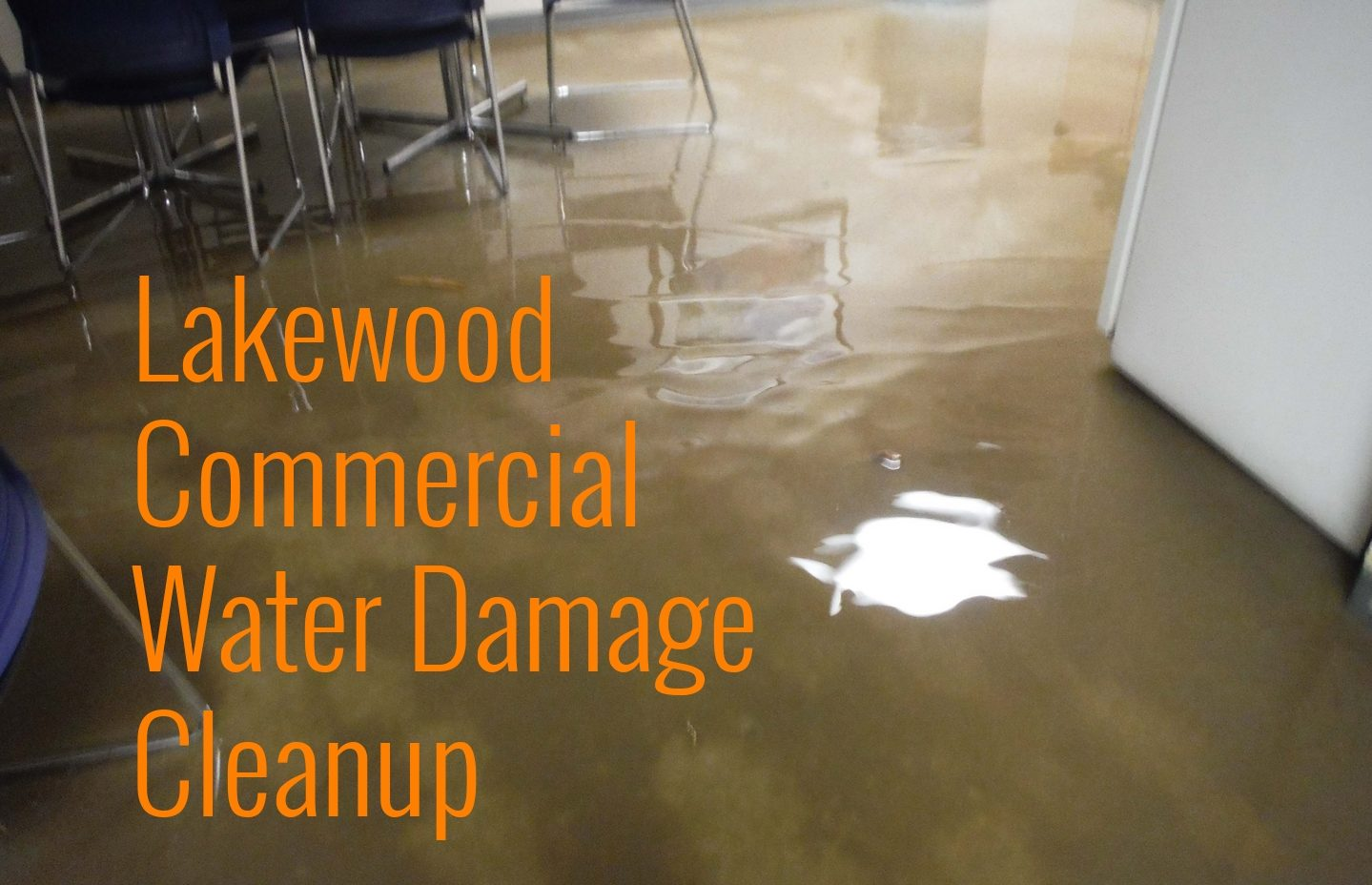 Lakewood Commercial Water Damage Cleanup