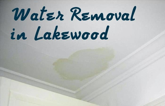 Water Removal in Lakewood