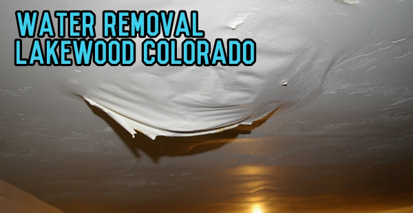Water Removal Lakewood Colorado