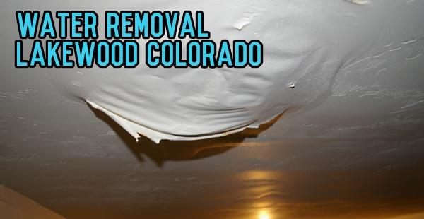 Water Removal Lakewood Colorado