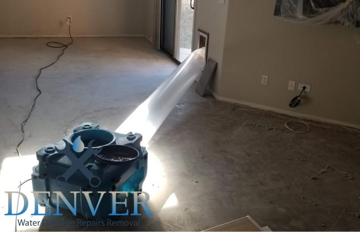 denver water damage repairs removal restoration company