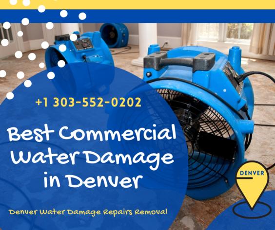 Best for Commercial Water Damage in Denver