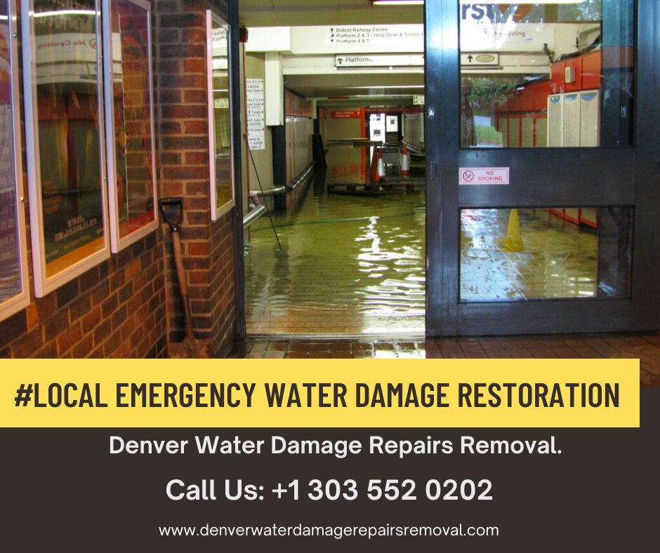 Local Emergency Water Damage Restoration in Denver Colorado
