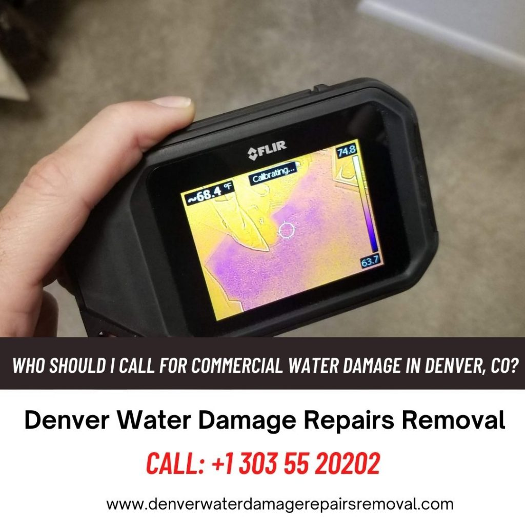 Who Should I Call for Commercial Water Damage in Denver CO