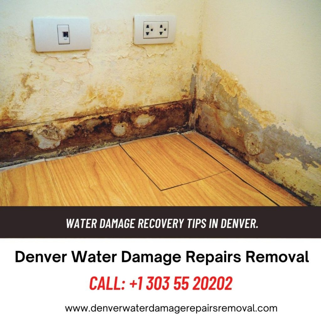 Water Damage Recovery Tips in Denver.